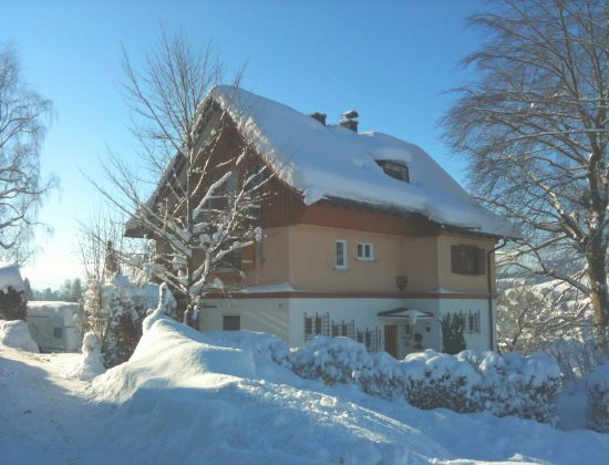 Ansicht von Osten im Winter